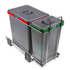Pattumiera cucina sottolavello scorrevole differenziata 2 cesti 26 litri PATT2