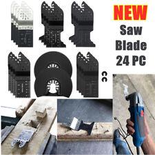 24pcs Oscillating Multi Tool Saw Blade for Porter Cable Dremel ROCKWELL DeWALT M