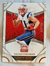 2016 Crown Royale Bronze #20 Julian Edelman New England Patriots /249
