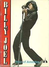 Billy Joel Concert Program 1979 Tour of America  Glass Houses