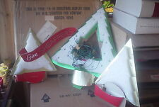SHEAFFER PEN STORE DISPLAY 1956-CHRISTMAS TREES WITH LIGHTS-MERCANTILE-A-30