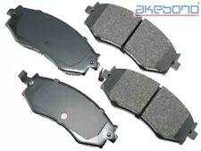 Frt Ceramic Brake Pads  Akebono  ACT485