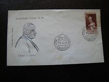 VATICAN - enveloppe 1er jour 3/6/1963 (cy32) (A)