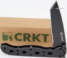 Couteau CRKT M16 Tanto Lame acier 8Cr13Mov Serrated Manche Acier CR10KS