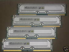 1GB (4x256MB) Samsung 800-45 rdram rambus rimm memory