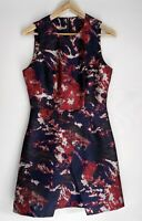 CUE Divine Printed A Line Dress Size 10