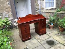 Victorian mahogany dressing table or desk