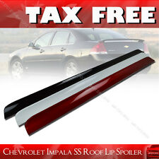 PAINTED For Chevrolet Impala SS 9th 4DR Rear Roof Window Spoiler 07-12 §