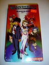 VHS Anime Wanderers El-Hazard the Adventure Begins Quest 1 MIP NEW Cartoon