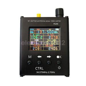 New 34.375MHz-2.7GHZ UV RF Vector Impedance ANT SWR Antenna Analyzer N1201SA+
