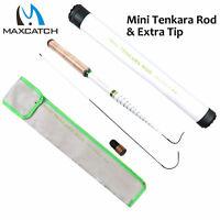 Mini Tenkara Fly Fishing Rod 12FT/360CM 6:4 Action 15Sec Telescoping Fly Rod