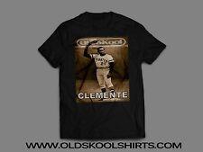ROBERTO CLEMENTE Pittsburgh Pirates OLDSKOOL CUSTOM  Mens T-Shirt *MANY OPTIONS*