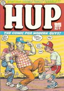 HUP #4 - THE COMIC FOR MODERN GUYS! R. CRUMB NM 1ST PRINT
