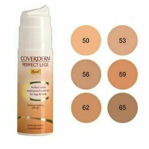Coverderm Perfect Legs Fluid Waterproof Body Makeup for Legs Full size SPF40