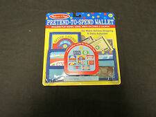 Melissa & Doug Pretend-to-Spend Wallet #2388, new, sealed