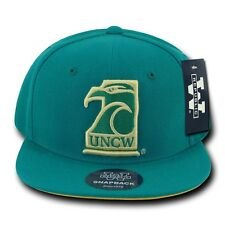 UNCW UNC Wilmington Seahawks NCAA Flat Bill Snapback Baseball Ball Hat Cap Hats