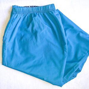 ScrubStar Womens 2X Petite Teal Blue Nursing Dental Scrub Bottoms Pants
