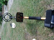 METAL DETECTOR GOLD WITH 2 coils, Excellent.MOTION DETECTOR WITH PINPOINT.