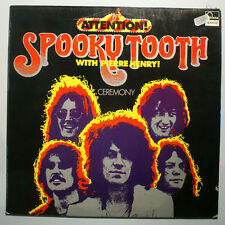 LP - Spooky Tooth- with Pierre Henry -Ceremony Attention - 6444 540 - Vinyl 1969