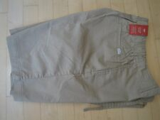 Levis Men's Leisure Khaki Shorts with Pockets Regular Fit Flat Front Small $50