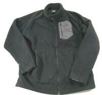 The North Face Full Zip Fleece Jacket Mens Large Black