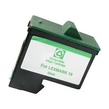 1 BLACK LXM16 Ink Cartridge for Lexmark i3 X1110 1130 1150 1185 1190 1240 1270