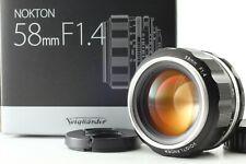 [N MINT] Voigtlander NOKTON 58mm f/1.4 SL II S Silver Ai-s Lens from JAPAN #134