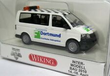 WIKING 1:87 VW T5 Bus Multivan Boxed 0308 72 Airport Dortmund - Intermodellbau