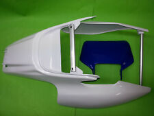 Yamaha TT600R TT600RE TT 5CH Heckfender Schutzblech Fender weiß Lampenmaske blau