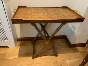 Drexel Heritage Et Cetera Butlers Tray Table or Coffee Table--2 Heights Exc Cond