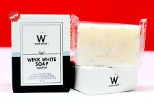 3 WINK WHITE ORIGINAL Gluta PURE Soap Whitening Face Body Lightening Brightening