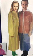 2X REUSABLE Raincoat Waterproof with Hood-Unisex Hooded Emergency