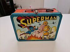 1954 Superman Lunchbox No Thermos