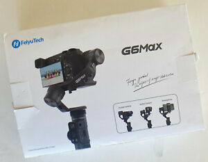 Feiyutech G6 Max 3 Axis Gimbal For Mirrorless Cameras and Smartphones