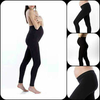Womens Ladies Full Length Maternity Leggings Nursing Wear Pregnancy Warm
