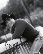 "Clint Black    8""X10"" B&W Autographed Photocopy"