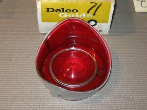NOS 1971 Chevrolet Malibu SS Taillight Lens, Guide!