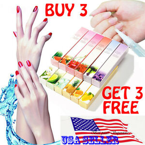 Mix Taste Cuticle Revitalizer Oil Pen Nail Art Care Treatment Manicure