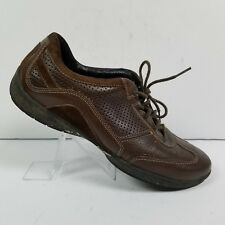 Clarks Wave Lace Up Brown Casual Driving Oxford Sneakers 33446 Womens Size 10 M
