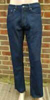 "Men`s New DEBENHAMS Straight Leg Jeans 42"" Waist 30"" Leg Indigo Blue - RRP £30"