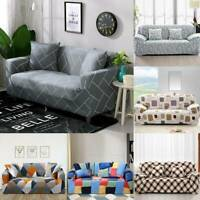 Sofa Cover Lounge Couch Stretch Washable Fit Removable Slipcover 1 2 3 Seater