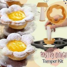 Pastry Dough Tamper Kit DIY Cupcakes Biscuit Mold Baking Donut Mould Home US