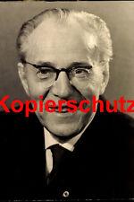 A38 primer ministro de la RDA Otto Grotewohl sed spd foto 20x30 cm