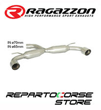 RAGAZZON SCARICO SDOPPIATO TERM.LI TONDI 2x102 VW GOLF VII 7 2.0TSI GTi 162kW