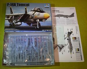 MODEL KIT 1/144 SCALE TRUMPETER F-14A TOMCAT 03910