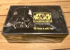 Star Wars CCG sealed box Premiere unlimited
