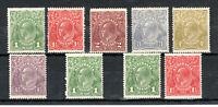 Australia 1924-25 Sidehead set to 4 1/2d MNH/ MH