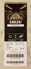 Philadelphia Eagles Chicago Bears Football Ticket 12/22 2013 Stub LeSean McCoy