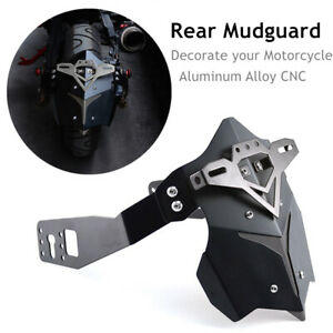 CNC Aluminum Alloy Motorcycle ATV Rear Wheel Fender Cover Mud Dust Wheel Splash