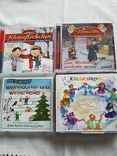 Cd Kinderlieder Weihnahhtsmusik und Geschichte 4 Stk. Set!